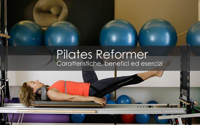 Pilates Reformer benefici ed esercizi