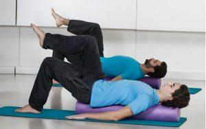 Pilates a corpo libero equilibrio