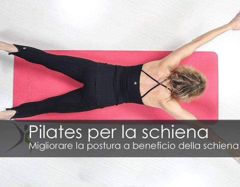 Pilates benefici per la schiena