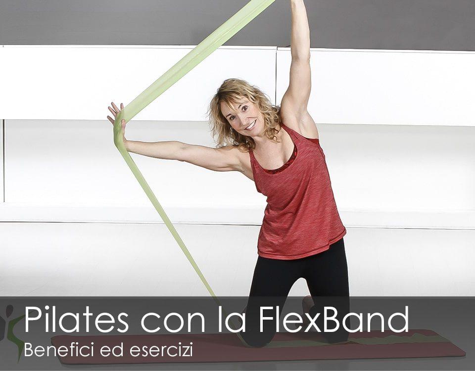 Pilates con la Flex Band benefici esercizi