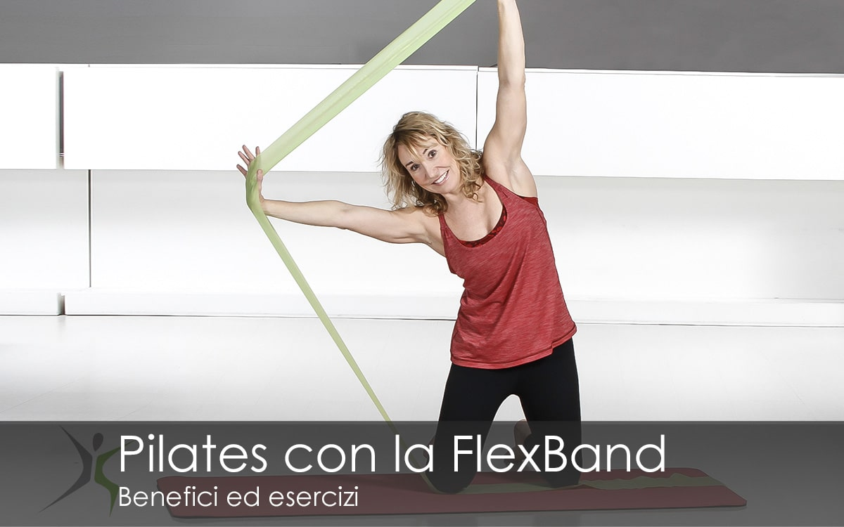 Pilates con la Flex Band benefici esercizi