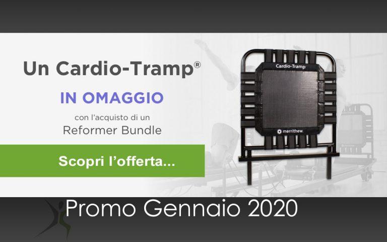 Reformer Pilates Offerta 2020-01: Cardio Tramp omaggio
