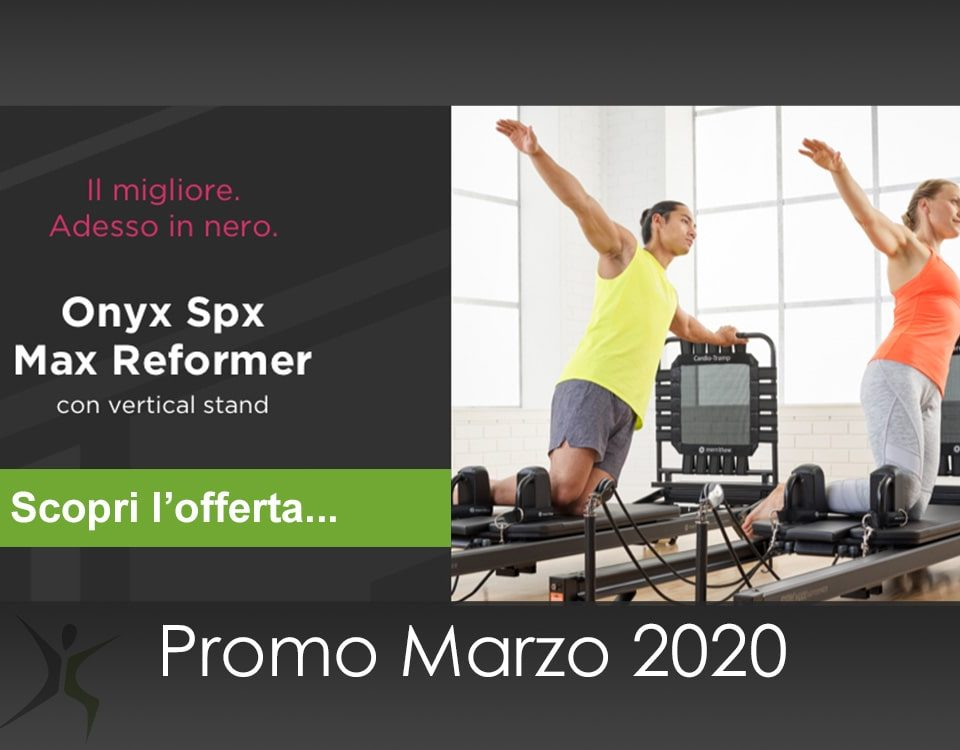 Onyx Reformer Pilates Offerta 2020-03: con Vertical stand