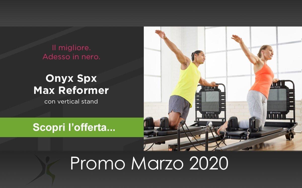 Onyx Reformer Pilates Offerta 2020-03: con Vertical stand