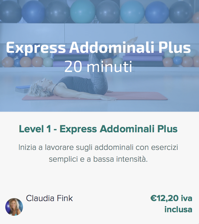 Pilates Anywhere Express Addominali Plus