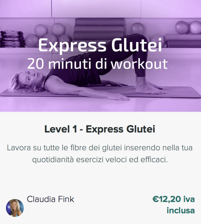Pilates Anywhere Express Glutei