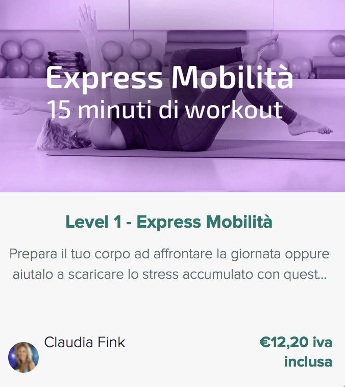 Pilates Anywhere Express Mobilità