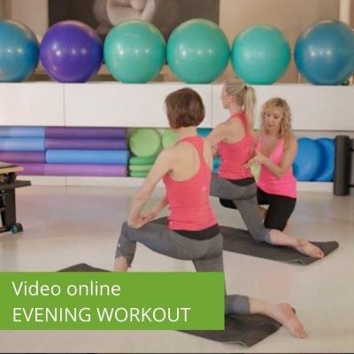 Video Pilates Online Evening Workout