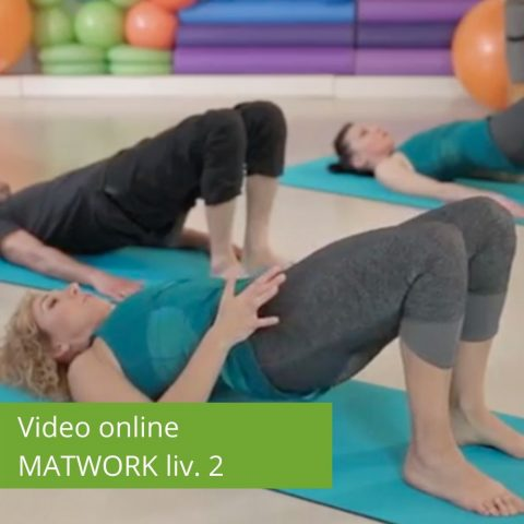 Video Pilates Online Matwork livello 2
