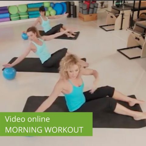 Video Pilates Online Morning Workout