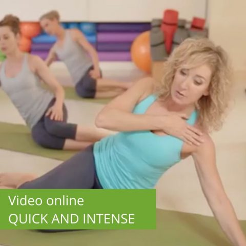 Video Pilates Online Quick and Intense Matwork