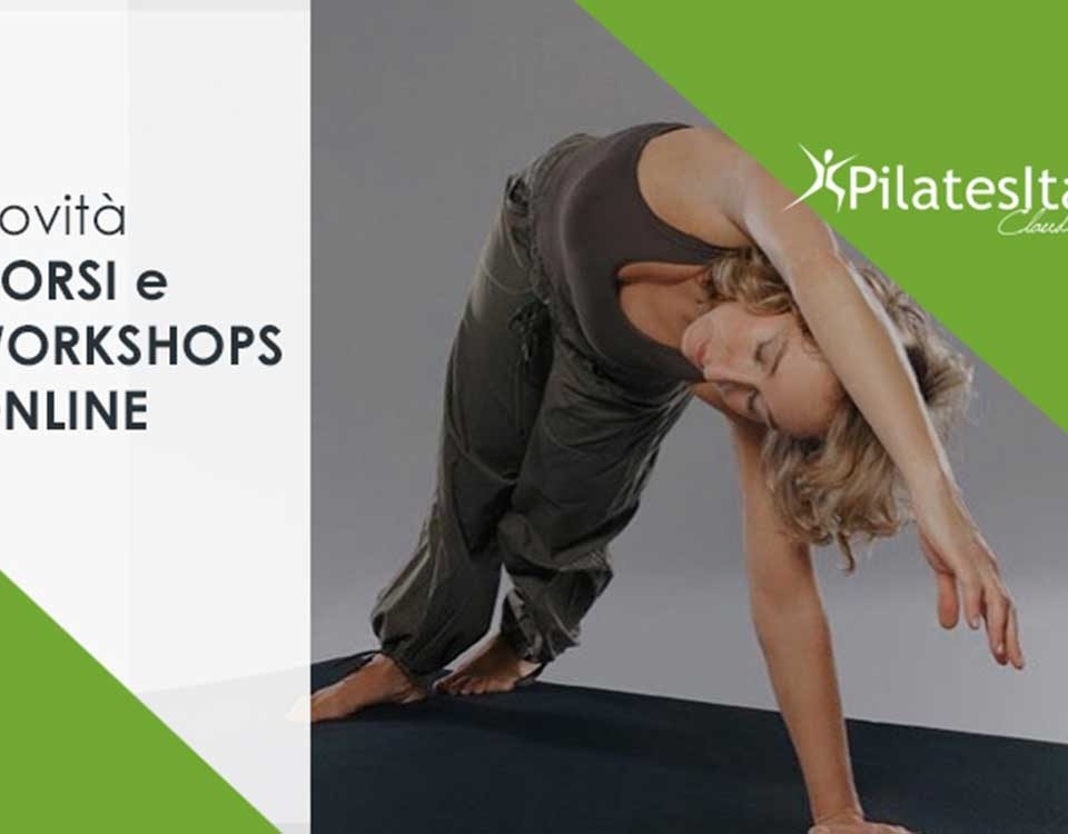 Corsi Istruttori DI Pilates online