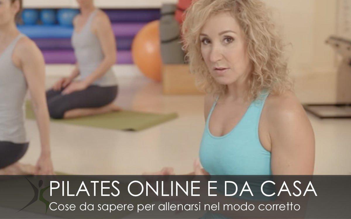 Pilates Online da casa