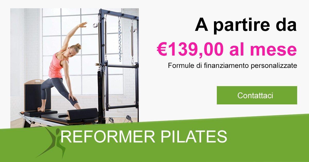 Banner Reformer Pilates Modelli